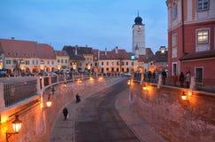 Sibiu Fotografia Stock Libera da Diritti