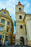 Sibiu. Achitectural detail in old town Sibiu, Romania Royalty Free Stock Photo
