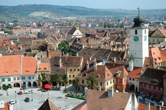 Sibiu, a beautiful Romanian city, the cultural cap Stock Images