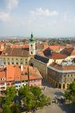 Sibiu, a beautiful town in Romania royalty free stock photography