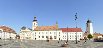 Sibiu big square Stock Images