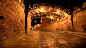 Sibiu bridge of lies stock video footage