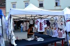 Sibiu, capital europea de la cultura por el año 2007 Imagen de archivo