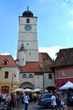 Sibiu, capital europea de la cultura por el año 2007 Imagenes de archivo