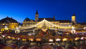 Sibiu Christmas Market Stock Photography