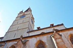 Sibiu church - Biserica evanghelica Stock Images