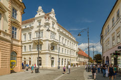 Sibiu City Downtown Stock Images