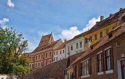 Sibiu is a city in Transylvania Royalty Free Stock Photo