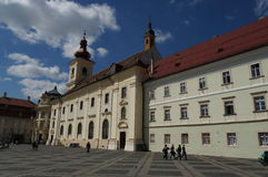 Sibiu cityhall Royalty Free Stock Images