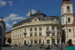 Sibiu cityhall Stock Photos