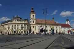 Sibiu cityhall Royalty Free Stock Photography