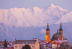 Sibiu Cityscape Stock Afbeelding