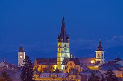 Sibiu cityscape Stock Image
