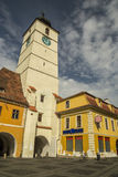 Sibiu Council Tower Royalty Free Stock Photos