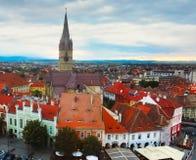 Sibiu dom zadasza ` oczu ` fotografia royalty free