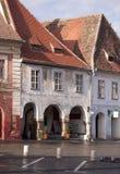 sibiu domowy średniowieczny stary miasteczko Fotografia Stock