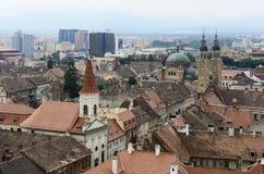 Sibiu em Romênia Fotografia de Stock Royalty Free