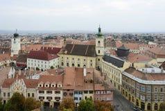 Sibiu em Roménia Imagens de Stock
