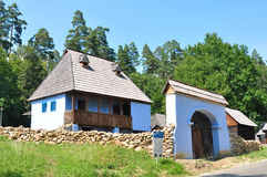Sibiu ethno museum house Royalty Free Stock Images