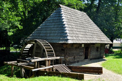 Sibiu ethno museum water mill Stock Photography