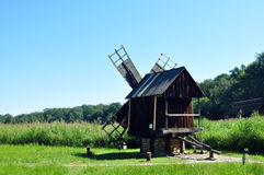 Sibiu ethno museum wind mill Royalty Free Stock Photography