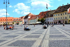 Sibiu, European Capital of Culture for the year 2007 Stock Photography