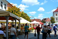 Sibiu, European Capital of Culture for the year 2007 Royalty Free Stock Photo