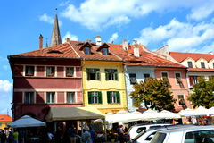 Sibiu, European Capital of Culture for the year 2007 Royalty Free Stock Photography