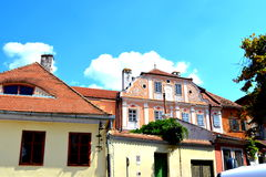 Sibiu, European Capital of Culture for the year 2007 Stock Photos