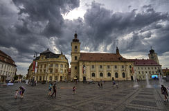 Sibiu Grand Square Royalty Free Stock Photos