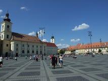Sibiu/Hermannstadt Στοκ Εικόνες