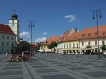 Sibiu/Hermannstadt Στοκ φωτογραφία με δικαίωμα ελεύθερης χρήσης
