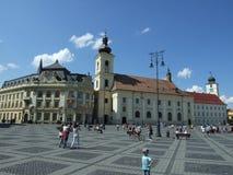 Sibiu, Hermannstadt/ Zdjęcie Royalty Free