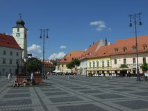 Sibiu/Hermannstadt Royalty Free Stock Photography