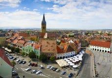Sibiu (Hermannstadt) na Transilvânia Imagem de Stock Royalty Free