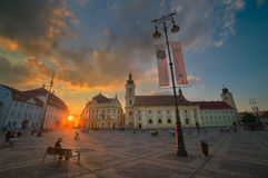 Sibiu, Hermannstadt, Romania Royalty Free Stock Image