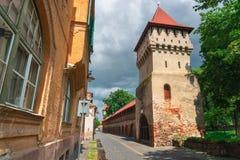Sibiu Hermannstadt, Rumänien Royaltyfri Fotografi