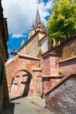 Sibiu Hermannstadt, Rumänien Royaltyfria Foton