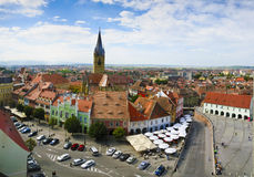 Sibiu (Hermannstadt) in Transylvania Royalty Free Stock Image