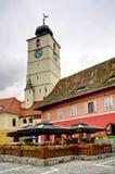 Sibiu (Hermannstadt) in Transylvanien Lizenzfreie Stockfotografie