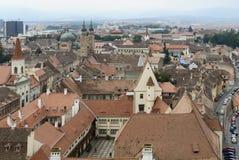 Sibiu i Rumänien Royaltyfri Foto
