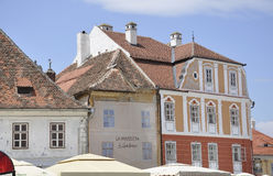 Sibiu,June 16:Historical Houses from Downtown of Sibiu Romania Stock Photos