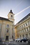 Sibiu-Kirche Lizenzfreies Stockfoto