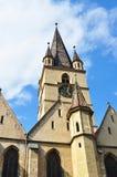 Sibiu Lutheran Cathedral Stock Photography