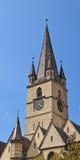 Sibiu Lutheran Cathedral Royalty Free Stock Image