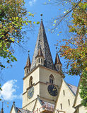 Sibiu Lutheran Cathedral Royalty Free Stock Photography