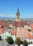 Sibiu Lutheran Cathedral Royalty Free Stock Photo