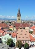 Sibiu Lutheran Cathedral Royalty Free Stock Photo