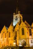 Sibiu Lutheran Cathedral Stock Photo