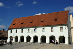 Sibiu - medieval house Royalty Free Stock Photos